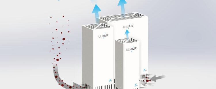 Professionelle Luftreiniger von ULMAIR
